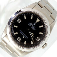 ROLEX Explorer Oyster Perpetual in Edelstahl