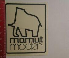 Aufkleber/Sticker: Mamut Moden (101116125)