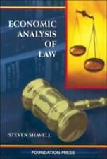 Economic Analysis of Law (University Casebook Series) by Shavell, Steven