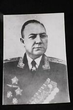 Soviet Photo Air Marshal Unknown Order Medal Aviation Communist Real Orginal