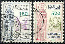Vatican City 1979 SG#722-3 St. Basil The Great Used Set  #D14923