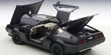 Autoart DELOREAN DMC-12 Matt Black in 1/18 Scale. New Release! In Stock!