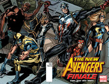 THE NEW AVENGERS FINALE #1 COMIC 2ND PRINTING VARIANT