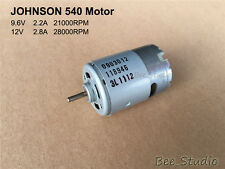 JOHNSON 540 Motor DC12V High Speed Large Torque Cooling Fan for Electric tool