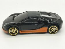 Speed & Furious 1/64 Bugatti Veyron Black with Orange - ONLY SELLER ON EBAY