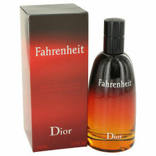 Fahrenheit by Christian Dior 3.4 oz EDT Cologne for Men New In Box