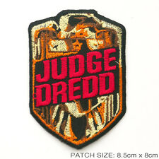 JUDGE DREDD - Cool 1990's MOVIE PATCH - Title Logo...