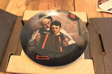 Norman Rockwell The Music Maker Collectible Plate