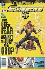 DC Sinestro comic issue 6 The New 52!