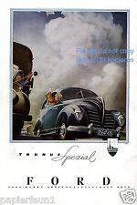 Ford Taunus Spezial Reklame von 1950 Werbung ad Special ßß