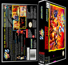 Final Fight 3 - SNES Reproduction Art Case/Box No Game.