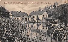 Cafe Grundmühle,Logierhaus Gertrudenhof bei Seidenberg O.L. / Zawidów
