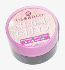 ESSENCE ***All That Greys*** Porcelain Loose Powder, 01 Be Classy & Fabulous !!!