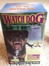 Home Electronic Burglar Alarm dog Barking Motion Sensor -Keep House Safe at Xmas
