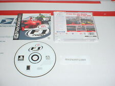 F1 2000 racing game complete w/ Manual for Playstation / PS2