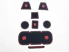(8) Door Rubber Coaster Cup Holder Side Pocket GT86 For Scion FRS Toyota GT86