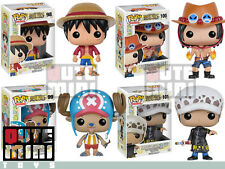 FUNKO POP JAPAN ANIMATION ONE PIECE LUFFY TONY TRAFALGAR PORTGAS SET OF 4 FIGURE