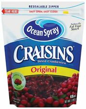 Ocean Spray Craisins Original Dried Cranberries Zip lock 48 oz bag