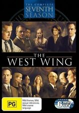 The West Wing : Season 7 - (6-Disc Set) - NEW DVD - Region 4