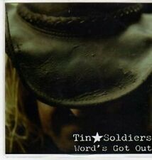 (BS118) Tin Soldiers, Word's Got Out - DJ CD