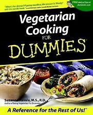 Vegetarian Cooking for Dummies by Suzanne Havala (2001, Paperback)