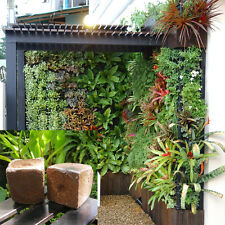 2 x Magic Block Vertical Planter bark Wall Garden media fertilizer net pot mix