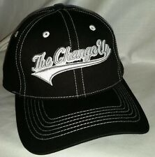 #411 The Change Up Since 2013 Black W/Silver Stitching Flex Hat/Cap FREE SHIP US