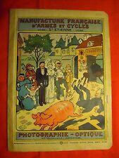 MANUFRANCE de 1914 Catalogue PHOTO APPAREIL FOLDING CINEMA LUMINOR KODAK