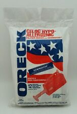 NEW SEALED ORECK Buster B Maxi-Power Compact Vacuum Bags - 12 Bags MV-12