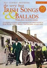 The Very Best Irish Songs and Ballads: Words, Music and Guitar Chords: v. 2...
