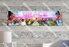 Personalized/Customized Princess Tiana Name Poster Wall Art Decoration Banner