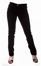 TIGER LONDON PUNK EMO GOTHIC LADIES BLACK STRETCH JEANS SIZE 16