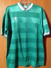Vintage Green Lotto Soccer/Rugby #11 XL Jersey • Made In USA