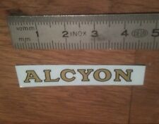 "Transfert logo ""ALCYON"" pour Canot Boat HORNBY MECCANO"