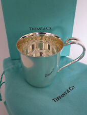 TIFFANY & CO ELSA PERETTI PADOVA BABY CUP STERLING SILVER 80gr+ NEVER USED / BOX