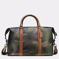 Coach Men's Voyager Camouflage Travel Weekend Duffle Bag F55035