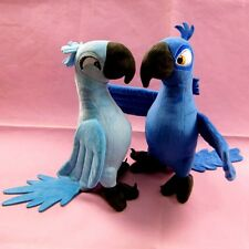 Peluche 2Pcs/lot 30CM Rio 2 Movie Cartoon Plush Toys Blue Parrot Blu & Jewel bir