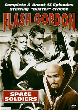 BUSTER CRABBE CHARLES MIDDLETON - FLASH GORDON SPACE SOLDIERS - DVD - NEW/SEALED