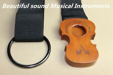 1pcs brand new Lei Muk Cello Rock Stop End Pin Stand Holder with straps