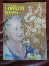 THE ILLUSTRATED LONDON NEWS AUGUST 1980 QUEEN MOTHER AT 80 GREAT COND FREE P&P