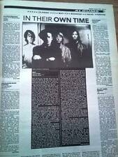 R.E.M. Out of Time album review 1991 UK ARTICLE / clipping