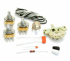 "WKS-NSLS ""Noiseless"" 5-Way Guitar Parts Wiring Kit Fender Stratocaster/Strat®"
