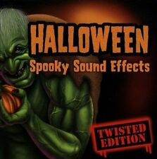 FREE US SH (int'l sh=$0-$3) NEW CD Various Artists: Halloween Sound Effects: Hal
