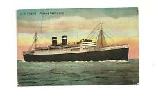 1929 Vintage Postcard - S.S. Virginia Liner from the Panama Pacific Line