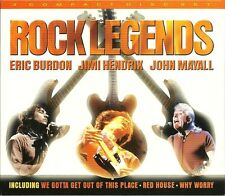 ROCK LEGENDS - 3 CD BOX SET - ERIC BURDON, JIMI HENDRIX, JOHN MAYALL