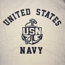 WWII USN US Navy PT Reproduction T Shirt w/ Spec Tag, Men's size S - XL