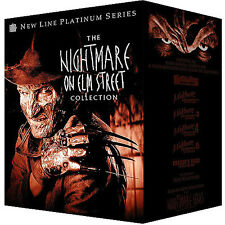 The Nightmare on Elm Street Collection (DVD, 8-Disc) +3D Glasses WES CRAVEN
