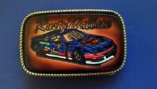 """RUSTY WALLACE """"VINTAGE"""" #2 Leather buckle - USA"""