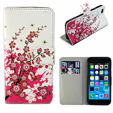 """Stand Fold Leather Slot Card Wallet Cover Phone Case For Apple iPhone 6 6S 4.7"""""""