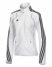 adidas T8 Frauen Damen Team Jacke weiß Teamware XS   eBay 329095fac8